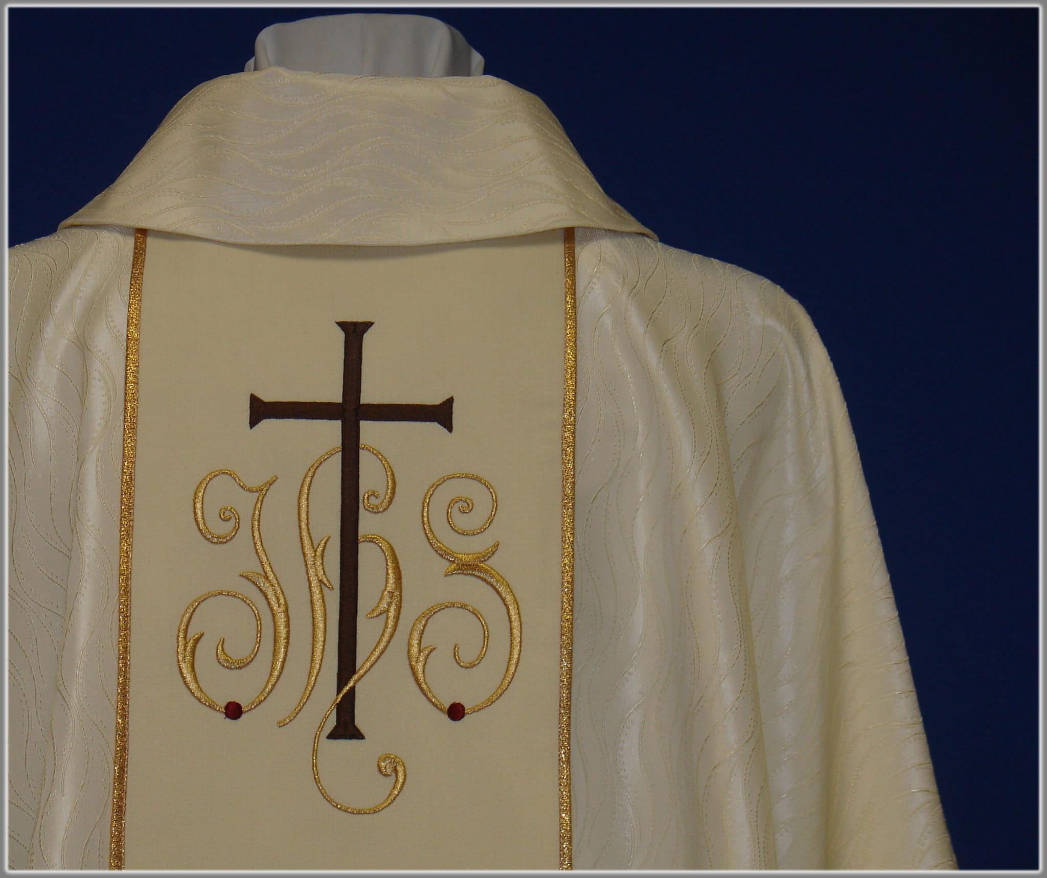 1f29a5c59d Ornat z wizerunkiem świetego Franciszka